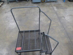 Steel 2 Step Work Platform m2337c