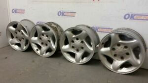 2001 02 03 04 Toyota Tacoma Oem Wheel Set 16 Inch 16x7 6 Lug 5 Spoke Silver