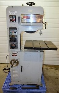 Msc 9514613 Variable Speed Pulley Vertical Bandsaw With Welder 110v 1ph 1hp 14