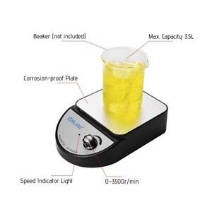 Magnetic Stirrer With Heating Plate Hotplate Mixer 100 240v Digital Display G9x2