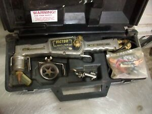 Victor Motorized Cutting Torch Mht 100 W Case Circle Cutting Attachment
