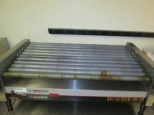Nemco Commercial Restaurant Hot Dog Roller Grill Holds 50 Hot Dogs