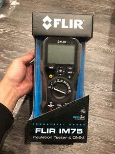 New Flir Im75 Insulation Tester Digital Multimeter W Vfd Filter