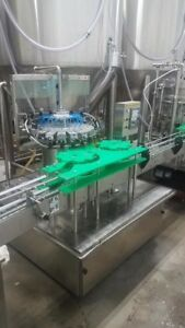 Count Pressure 8 Head Bottling Line W labeling Machine From Bc Packaging Service