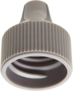 Wheaton W242525 a Gray Polypropylene Dropping Bottle Cap For 20mm Tip And 30 125