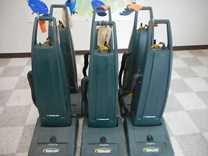 Lot Of 6 Nobles Magna Twin 1600 Commercial Vacuum Cleaners For Parts Or Repair