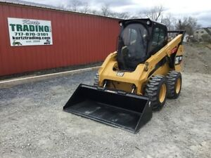 2016 Caterpillar 262d Skid Steer Loader W cab