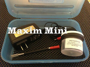 Mini Plater 24kt Gold Plating Machine Kit With 24k Gold