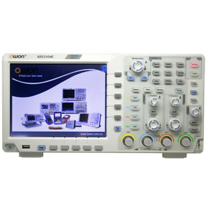 Owon Xds3104e 100mhz 4ch 8 Bits Touchscreen Low Noise Digital Oscilloscope