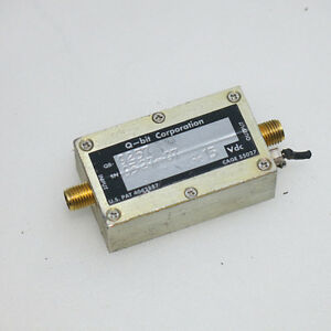 1pc Q bit Qb 9257 10mhz 2ghz 20db Sma Rf Coaxial Low Noise Amplifier