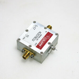 1pc Cougar Ac2078ecw 10mhz 1 8ghz 10db Sma Rf Coaxial Amplifier
