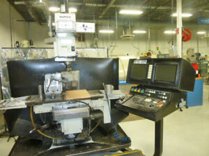 Hurco Cnc Vertical Milling Machine Modell Hawk 5m