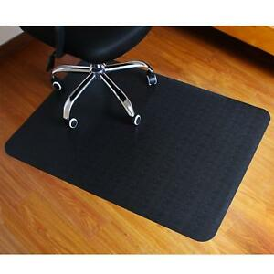 Office Chair Mat Hard Floor Protection Anti Slide Wood Protectors Computer New