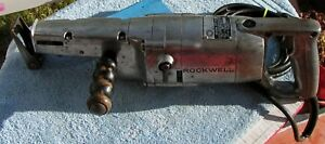 Vintage Extra Heavy Duty Rockwell Reciprocting Saw Model 277 8amps Blades