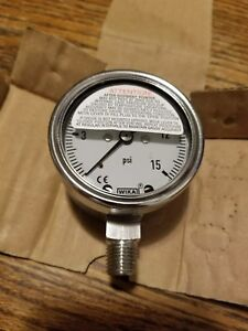 Wika 9305394 Industrial Gauge Brand New