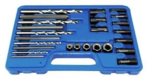 Astro 9447 Screw Extractor Drill Guide Set 25 Pc Ez Metric Easy Out 5mm 16mm