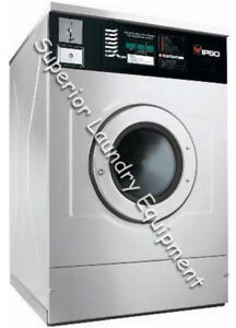 Ipso Wf185c Washer extractor 40lb Coin 220v 1ph Reconditioned