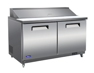 New Valpro 60 Sandwich Prep Cooler Vp60s Free Shipping