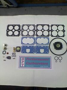 Holley Model 4150 Vacuum Secondary Deluxe Rebuild Kit 3310 3310 1