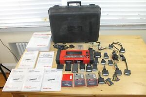 Snap On Mtg2500 Diagnostics Graphing Scanner Accessories Case Manuals