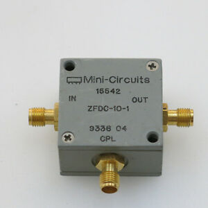 1pc Mini circuits Zfdc 10 1 1 500mhz Sma Rf Coaxial Directional Coupler