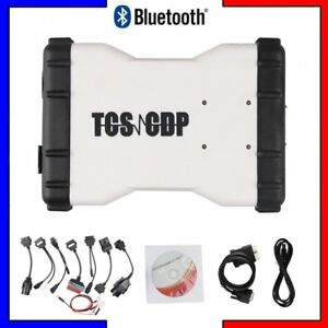 Tcs Cdp Pro Plus Obd2 Obdii Car Truck Scanner Bluetooth Diagnostic Tool cable R