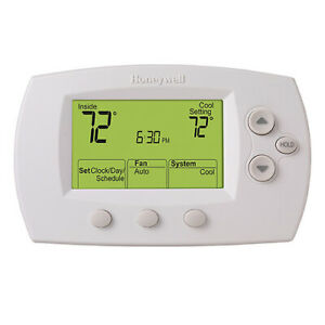 Honeywell Thermostat Focuspro 6000 Programmable Digital 5 1 1 2h 2c Th6220d100