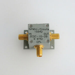 1pc Mini circuits Zedc 10 2b 1 1000mhz 10db Rf Sma Rf Coupling Coupler
