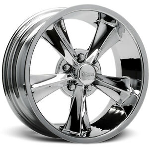 20x8 5 Chrome Rocket Racing Booster Wheels 5x4 5 12 Dodge Charger