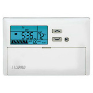 Luxpro Thermostat 1 heat 1 cool Programmable With Humidity Display Psp611
