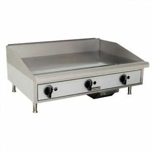 Toastmaster Tmgm36 36 Countertop Gas Griddle Flat Top Grill Nat Or Lp Gas