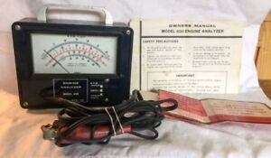 Engine Analyzer Model 600 Actron Mfg Co With Owners Manual