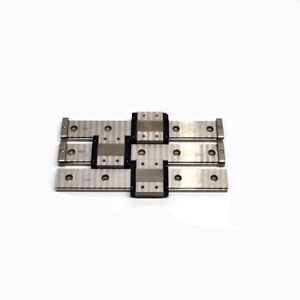 lot Of 3 Thk Linear Guide Rails 190mm W 6 Rsr12wvm Bearing Slide Blocks