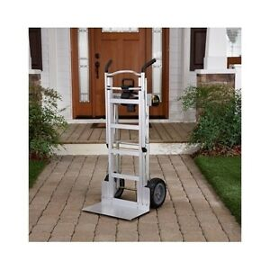 Moving Hand Truck Light Weight Dolly Folding Cargo Cart Portable Warehouse Push