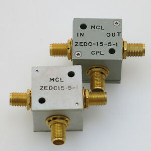 1pc Mini circuits Zedc 15 5 1 Sma Rf Coaxial Directional Coupler