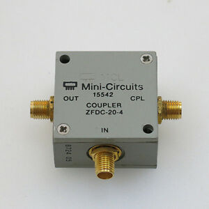 1pc Mini circuits Zfdc 20 4 1 1000mhz 20db Sma Rf Coaxial Directional Coupler