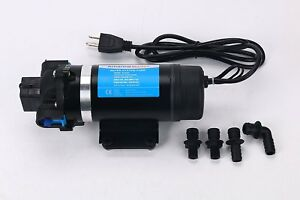 Self Priming Water Pressure Pump 11bar 7lpm Pump Builtin 160 Psi Pressure Switch