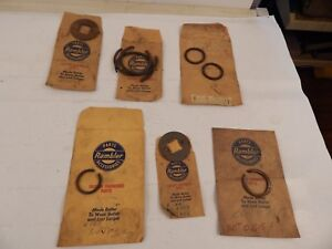 Lot Of Vintage Nos Rambler Auto Parts Clip Rings 1960 S