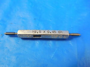 M2 5 X 45 6h Metric Thread Plug Gage 2 5 0 45 Go No Go P d s 2 208