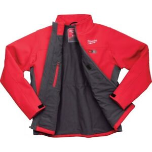 Milwaukee Heated Jacket Large With Charger Battery And Battery Cover