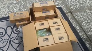 Large Lot 145 Complete Sets Of Pyrex Kimax Petri Dishes Most New Old Stock