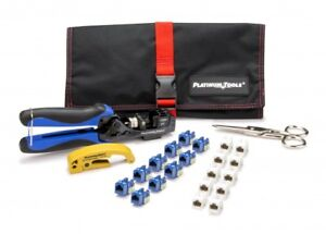 Platinum Tools Xpress Jack Termination Kit 90175