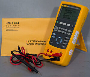 New Fluke 724 Temperature Calibrator With Test Leads Nist Calibration