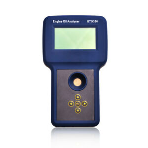 Engine Oil Analyzer Oto350 Motor Oil Tester Work With All Diesel Or Gas Engines