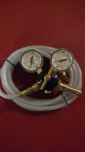 Miller Argon Flow Gauge And Hose