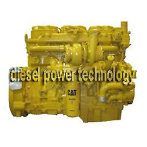 Caterpillar 3406b Diesel Engine Freshly Complete Rebuilt