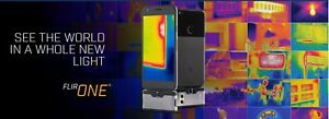 Flir One Thermal Imaging Camera Ios Silver Iphone X 8 7 6 See Heat Cold G3 New