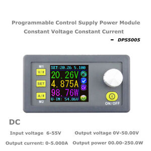 1x Dps5005 Constant Voltage Current Step down Programmable Power Supply Module