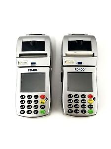 First Data Fd400 Ti Wireless Credit Card Machine Terminal For Card Transactions