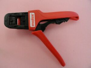Molex 63811 8200f Crimping Tool With 63811 8275 Locator Assembly